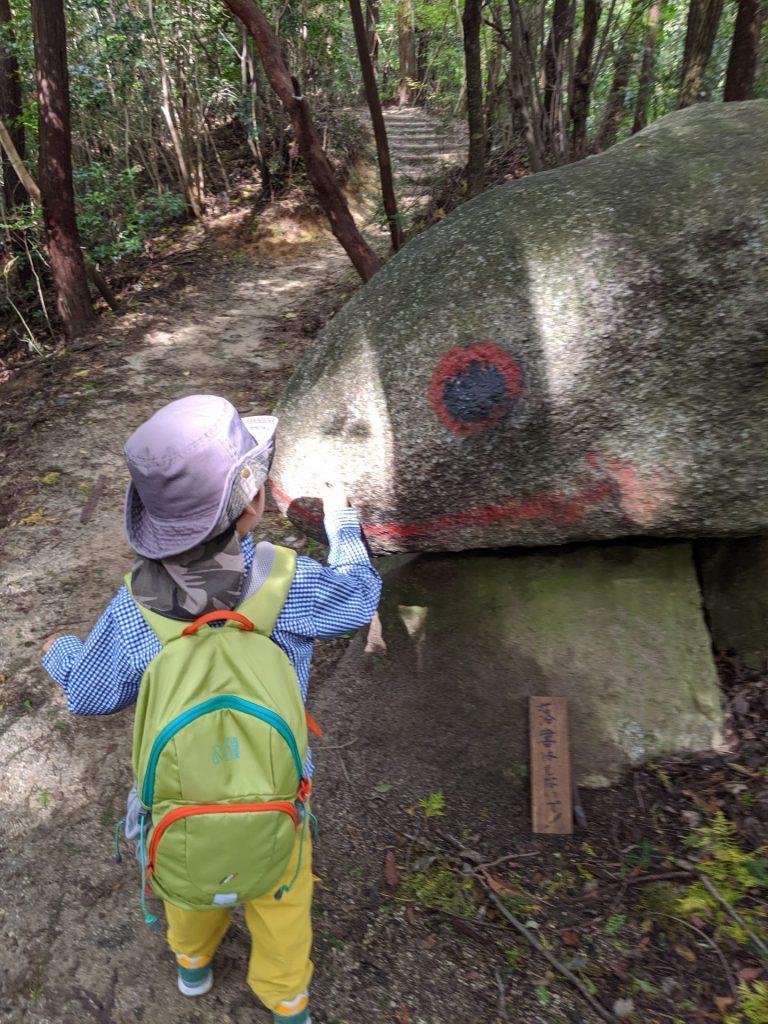 猿投山 蛙岩